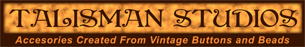 Talisman Studios Accessories from Vintga Buttons and beads