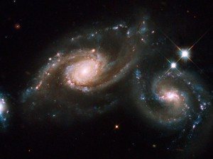 The Colliding Spiral Galaxies of Arp 274