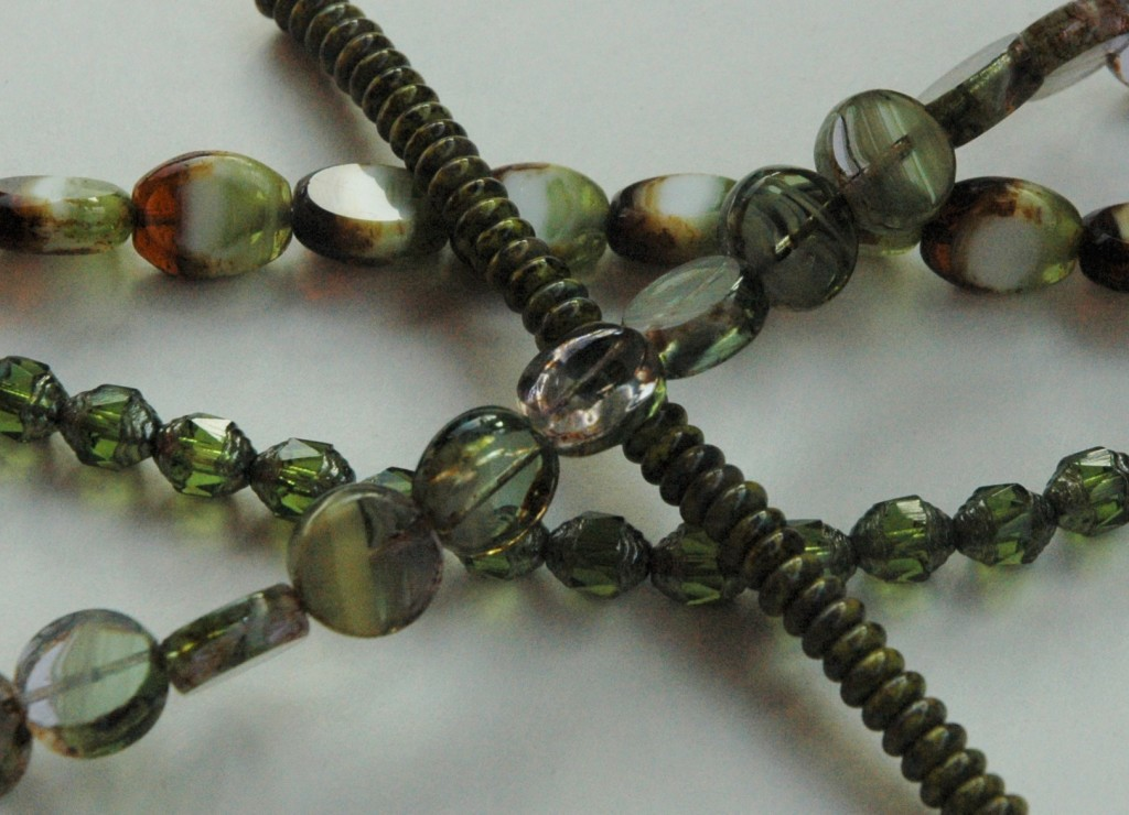 Czech Glass Beads to be Made into Earrings and Bracelets for Talisman Too Collections
